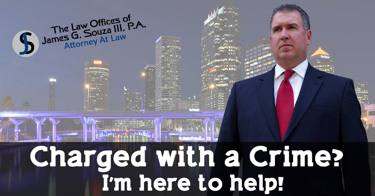 Tampa Criminal Defense Attorney in Tampa, FL — Jim Souza