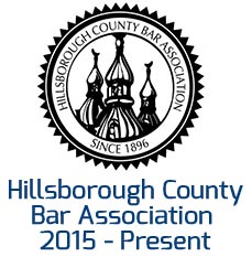 Hillsborough bar association badge for James Souza